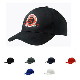 Budget Cotton 6 Panel Baseball Cap
